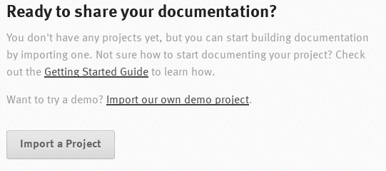Ready to share your documentation Page